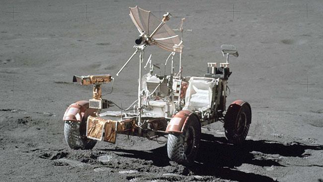 با ماه نورد آپولو آشنا شوید؛ اولین خودروی فضایی